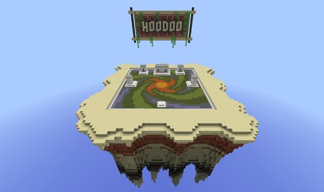 Hoodoo Map for Minecraft 1.6.4/1.6.2