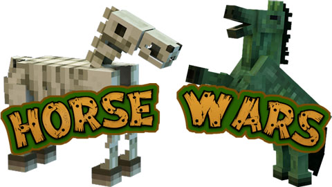 Horse Wars Map for Minecraft 1.6.2