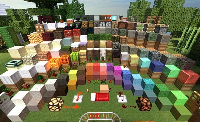 Equanimity Resource Pack for Minecraft 1.7.4/1.7.3/1.7.2/1.6.4
