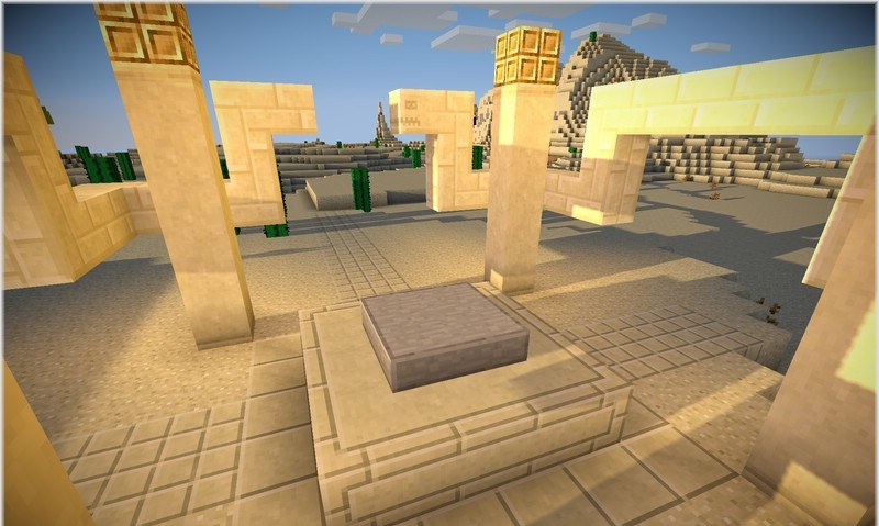Place 4 waypoints blocks near each other to form a 2x1x2 waypoint structure: