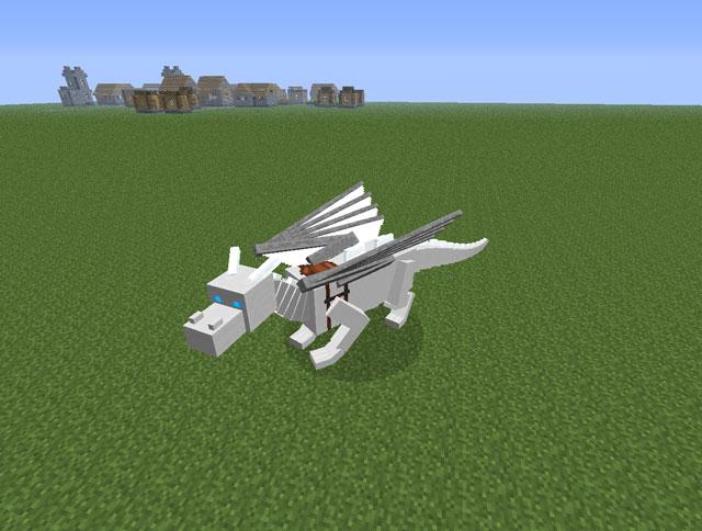 Dragon Craft Mod white