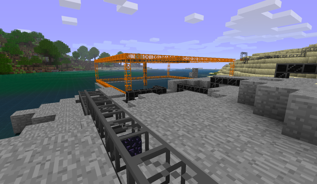 buildcraft-oil-powered-underwater-quarry-with-an-output-pipe
