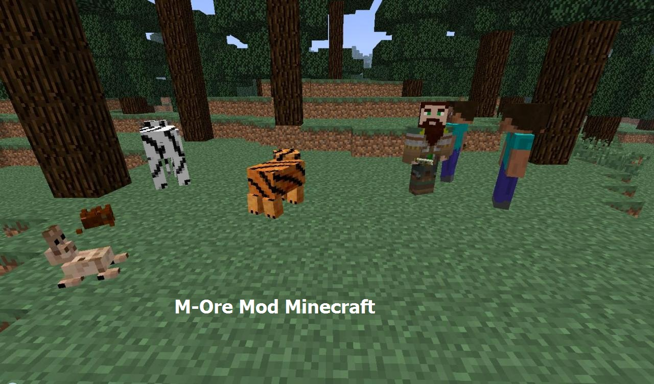 More Mobs for minecraft