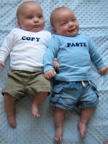 copy paste content