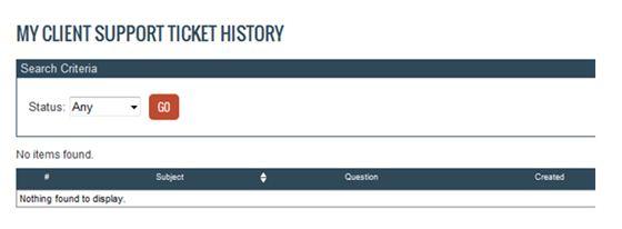 ticket history