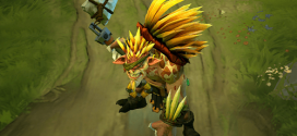 A patch containing a new hero is released , Bristleback (Rigwarl) in Dota 2
