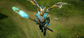 A nice patch update for Dota 2 adding a new intelligence hero released, Skywrath Mage
