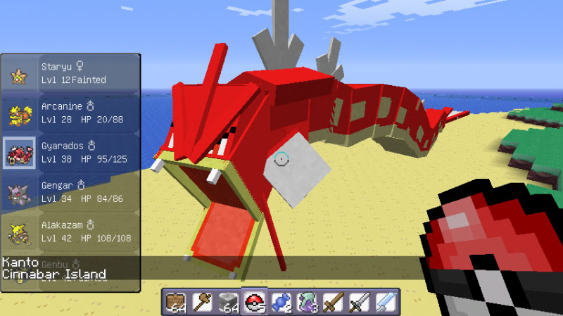 Screenshot Pixelmon Mod