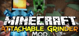 Attachable Grinder Mod for Minecraft 1.11.2/1.10.2/1.7.10