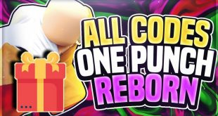 Receive, Enter new One Punch Reborn code 2020