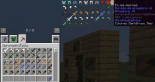 More Vanilla Tools For Minecraft