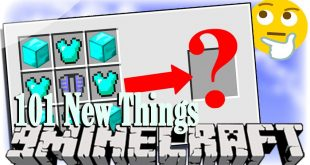 Download 101 New Things Mod [1.15.2-1.10.2] Mods for Minecraft