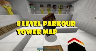 Download 8 Level Parkour Tower Map  1.12.2-1.12 Mods for Minecraft