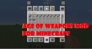 Download Age of Weapons Mod From Ancient to Future  [1.12.2-1.11.2] Mods for Minecraft