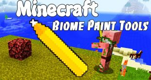 Download Biome Paint Tools Mod [1.12.1-1.14.4->1.10.2] Mods for Minecraft