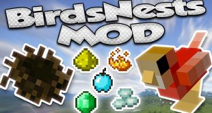 Download Birds Nests Mod  [1.12.2-1.14.4->1.10.2] Mods for Minecraft