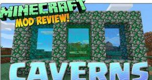 Download Cavern Mod  [1.15.2-1.12.2-1.9.4] Mods for Minecraft