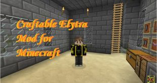 Download Craftable Elytra Mod Fly in The Sky  [1.12.2-1.11.2] Mods for Minecraft