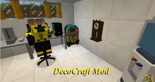 Download DecoCraft Mod  Decorate Your World [1.12.2-1.11.2] Mods for Minecraft