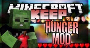 Download Keep Hunger Mod 1.11.2-1.10.2 (More Keeper) Mods for Minecraft