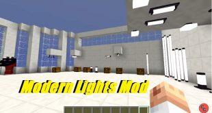 Download Modern Lights Mod Lighting Up Your Modern House   [1.15.2-1.11.2] Mods for Minecraft