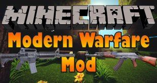 Download Modern Warfare Mod  [1.12.2-1.14.4->1.10.2] Mods for Minecraft