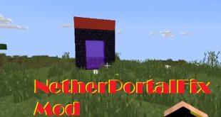 Download NetherPortalFix Mod  [1.12.2-1.11.2] Mods for Minecraft