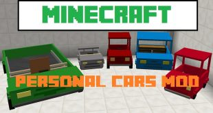 Download Personal Cars Mod [1.15.2-1.14.4->1.10.2] – Car in Minecraft Mods for Minecraft