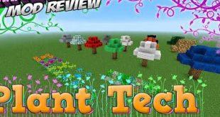 Download PlantTech Mod  [1.12.2-1.9.4->1.8.9] Mods for Minecraft