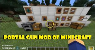 Download Portal Gun Mod Teleport to Anywhere of minecraft [1.12.2, 1.12.1, 1.12] Mods for Minecraft