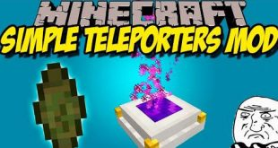 Download Simple Teleporters Mod [1.12.2-1.11.2] – Position Mods for Minecraft