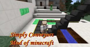 Download Simply Conveyors Mod Upside Down Conveyors of minecraft [1.12.2-1.11.2] Mods for Minecraft