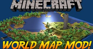 Download World Map Mod  [1.12.2-1.14.4->1.10.2] Mods for Minecraft