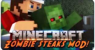 Download Zombie Steaks Mod 1.11.2-1.12.2-1.9.4 Mods for Minecraft