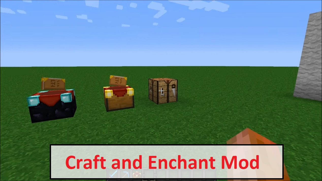 Craft and Enchant Mod