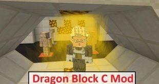 Download Dragon Block C Mod [1.12.2->1.7.10] Mods for Minecraft