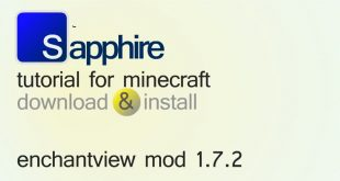 Download EnchantView Mod [1.8.9->1.7.10] Mods for Minecraft