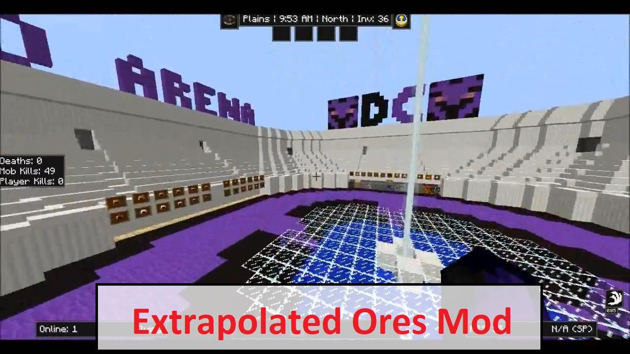 Extrapolated Ores Mod