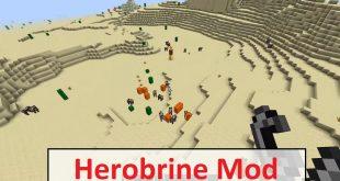 Download Herobrine Mod [ 1.16.5-1.12.2-1.14.4-1.12.2-1.9.4] Mods for Minecraft