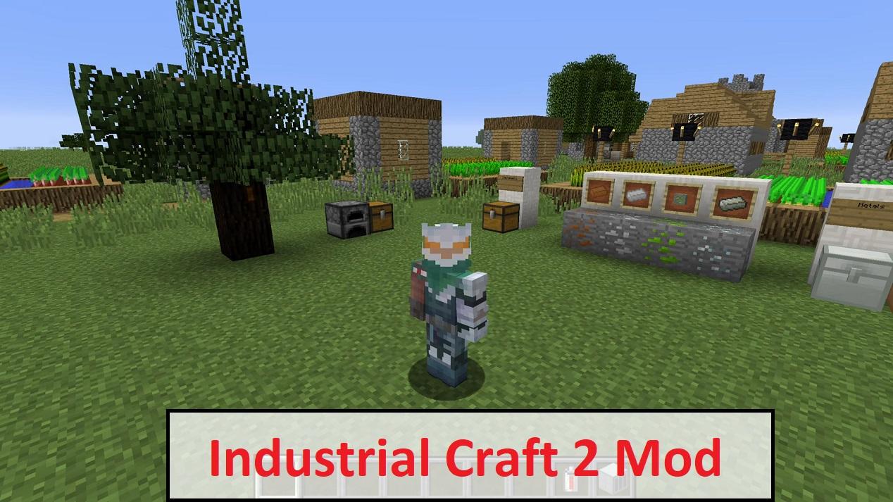 Industrial Craft 2 Mod
