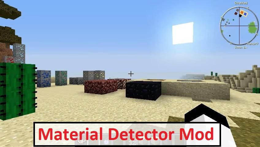 Material Detector Mod