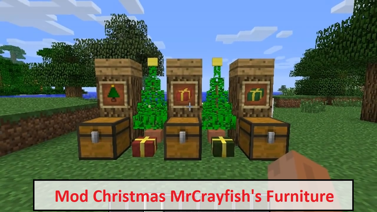 Mod Christmas MrCrayfish's Furniture