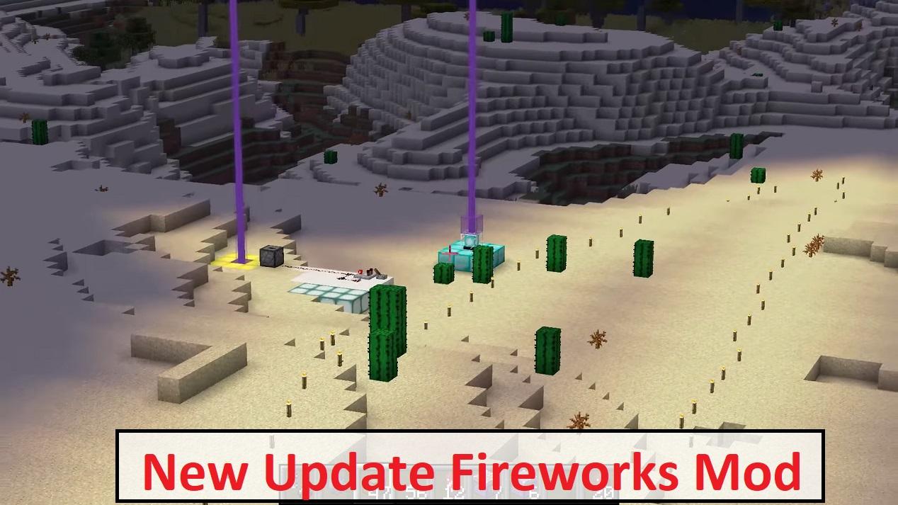 New Update Fireworks Mod