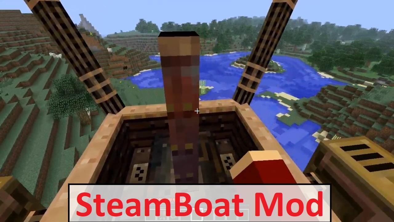 SteamBoat Mod