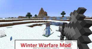 Download Winter Warfare Mod [1.6.4] Mods for Minecraft