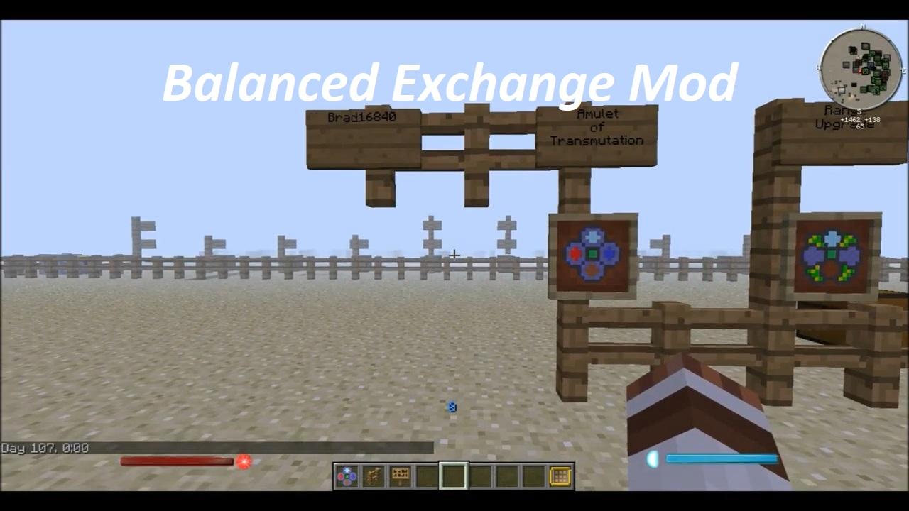 Balanced Exchange Mod