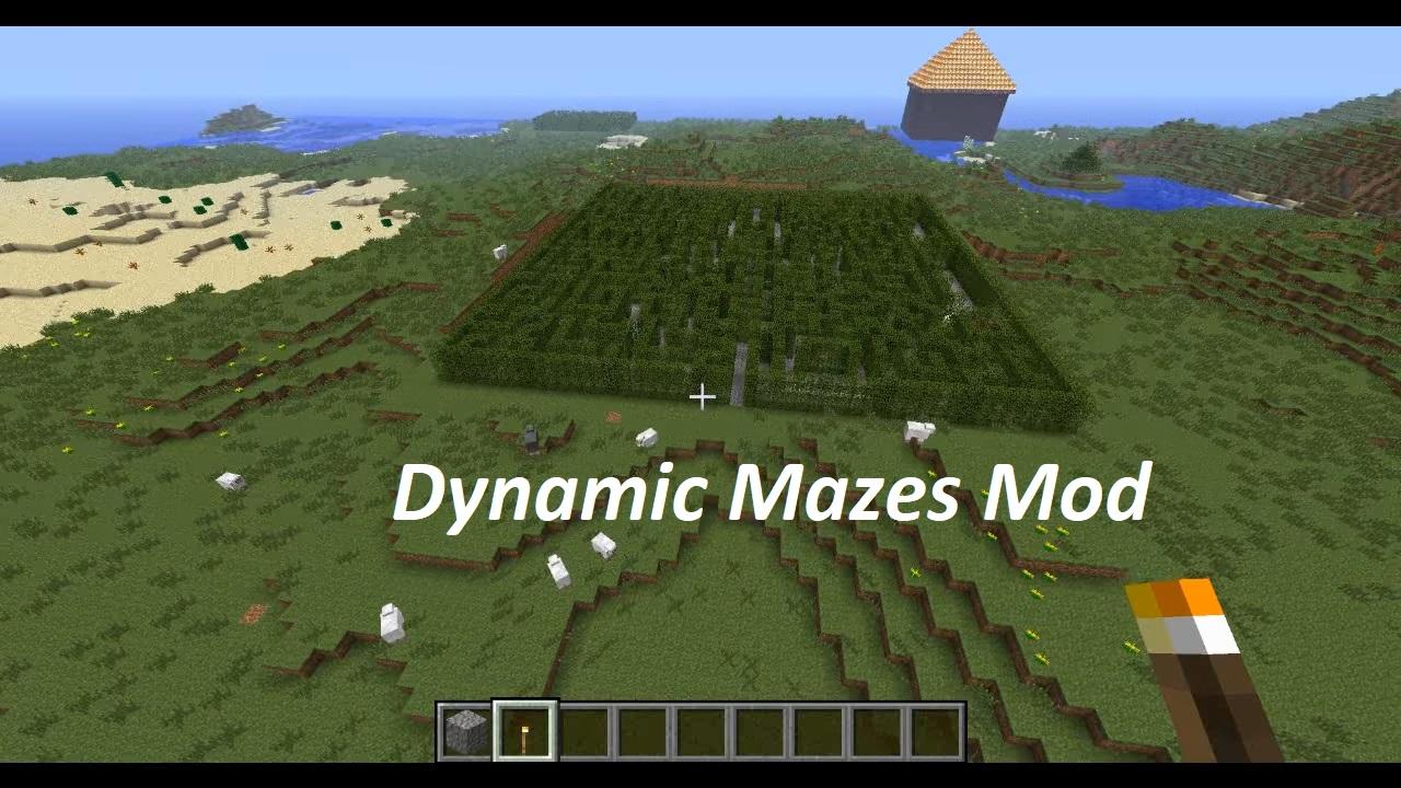 Dynamic Mazes Mod