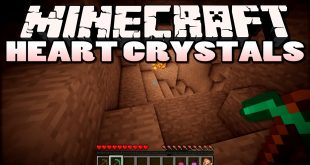 Download Heart Crystals Mod 1.8.9->1.7.10 for Minecraft