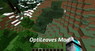 Download OptiLeaves Mod 1.12.2 for Minecraft