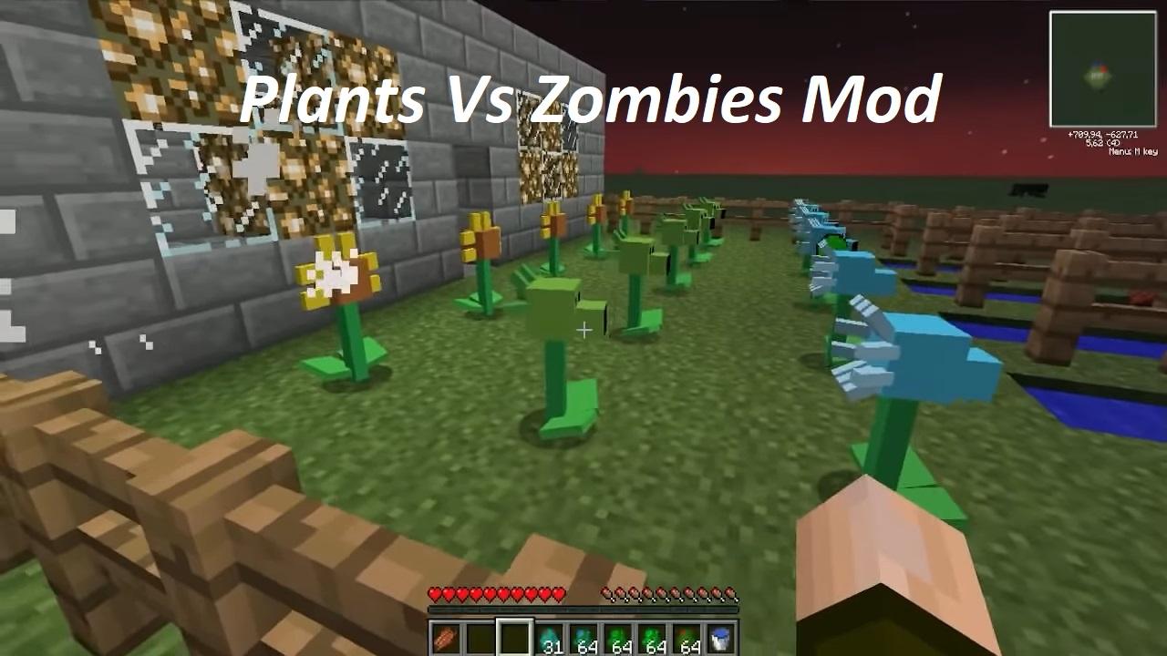 Plants Vs Zombies Mod